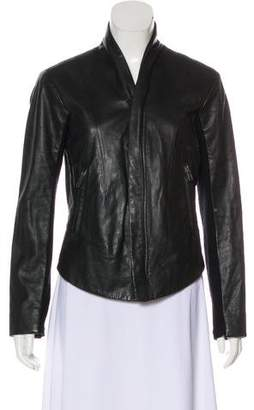 Veda Casual Leather Jacket