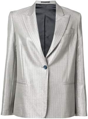 Golden Goose pearlescent pinstripe blazer