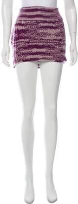 Missoni Cashmere Mini Skirt