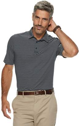 Croft & Barrow Men's Feeder-Striped Polyester Polo