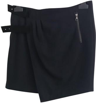 Berenice Navy Wool Skirt for Women