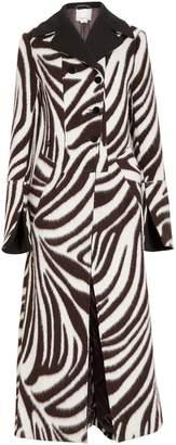 3.1 Phillip Lim Zebra Jacquard Wool Coat