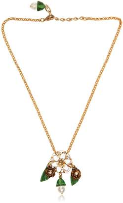 Dolce & Gabbana Flower Pendant Necklace