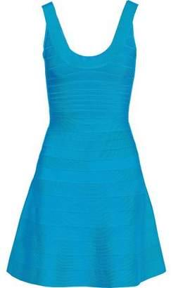 dc9d1774d730 Hervé Léger Flared Bandage Dress - ShopStyle