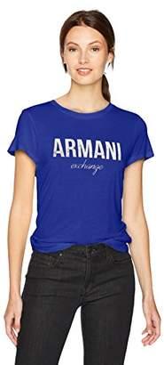Armani Exchange A|X Women's Crewneck Logo T-Shirt