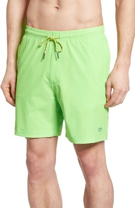 Men's Southern Tide Neon Swim Trunks $79.50 thestylecure.com