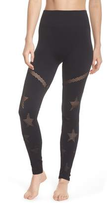 Spiritual Gangster Star Mesh Leggings