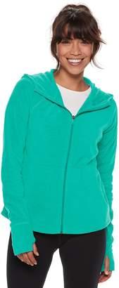 Tek Gear Petite Microfleece Hooded Jacket