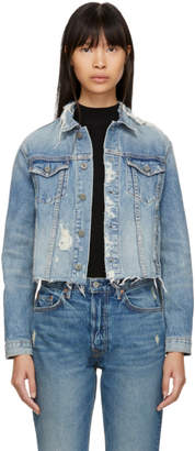 GRLFRND Blue Denim Cara Jacket