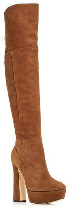 Schutz Women's Sarina Over-The-Knee Platform Boots
