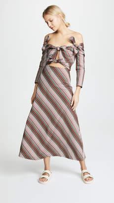 Isa Arfen 4 Knot Dress