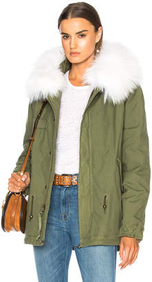 Mr & Mrs Italy Mini Parka With Sheep Fur