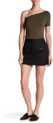 Helmut Lang Double Pocket Miniskirt $320 thestylecure.com