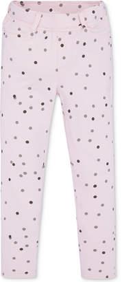 Levi's Haley May Knit Pink Dots Leggings, Toddler Girls
