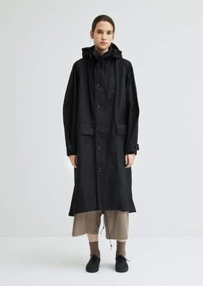 Y's Parker Cotton Hooded Coat