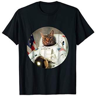 Funny United States Space Force Cat TShirt Cat Lover Tee
