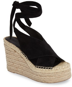 Women's Marc Fisher Ltd Andira Platform Wedge Sandal $169.95 thestylecure.com