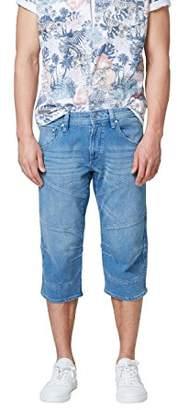 Esprit edc by Men's 058cc2c025 Short, (Blue Medium Wash 902), (Size: 33)