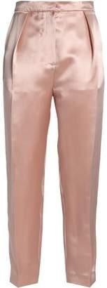 Roksanda Silk-Blend Satin Tapered Pants