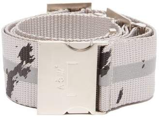 A-Cold-Wall* A Cold Wall* Reflective Stripe Industrial Belt - Mens - Silver