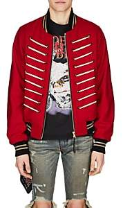 "Amiri Men's ""Forever"" Wool-Blend Bomber Jacket-Red"