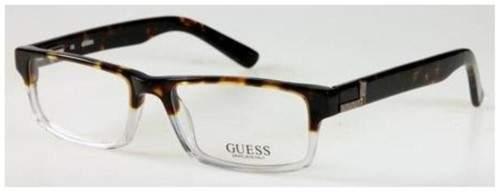 Guess Eyeglasses GU1750 GU/1750 Tortoise Crystal Full Rim Optical Frame 52mm