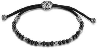 John Hardy Men's Sterling Silver Classic Chain Beaded Bracelet with Black Onyx