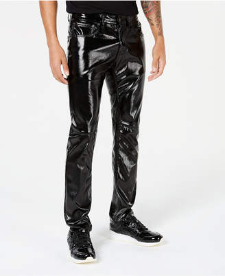 INC International Concepts I.n.c. Men Slim-Fit Faux-Leather Pants