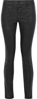 RtA Leather Skinny Pants