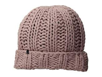 Plush Fleece-Lined Chunky Cuffed Beanie