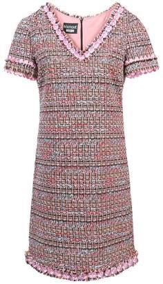 Moschino V-neck tweed dress