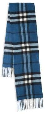 Burberry Kid's Exploded Check Cashmere Scarf