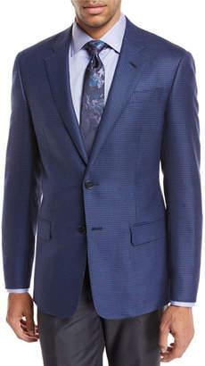 Giorgio Armani Pinwheel Wool Sport Coat