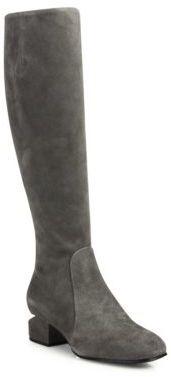 Alexander Wang Ashton Tilt-Heel Suede Boots $1,050 thestylecure.com