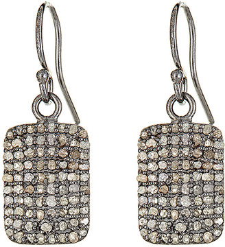 Forever Creations USA Inc. Forever Creations Silver 1.30 Ct. Tw. Diamond Drop Earrings