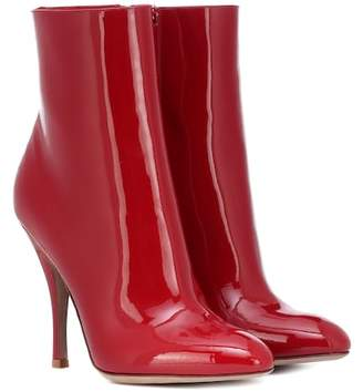 Valentino Killer Stud patent leather ankle boots
