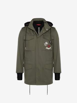 Alexander McQueen Embroidered Field Jacket