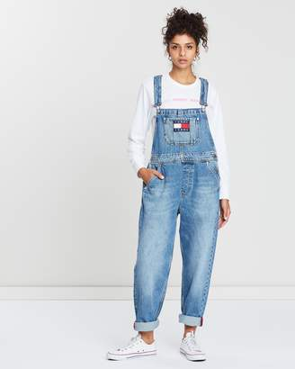 Tommy Jeans Faded Regular Denim Dungarees