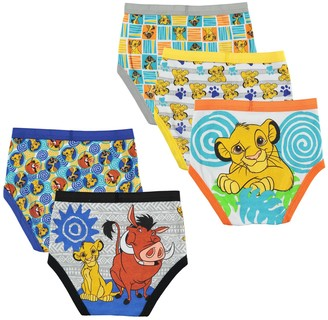 08f550b11f Licensed Character Boys 4-20 Disney Lion King 5-Pack Briefs
