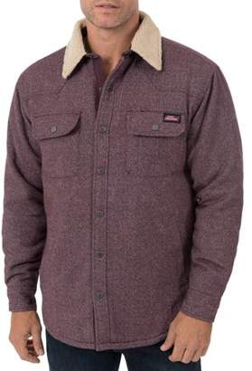 Dickies Men's Jacquard Sherpa Shirt Jacket