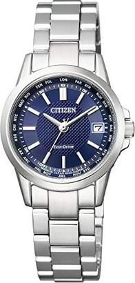 [シチズン]CITIZEN 腕時計 エコ・ドライブ電波 ダイレクトフライト 針表示式 ペアモデル EC1130-55L レディース