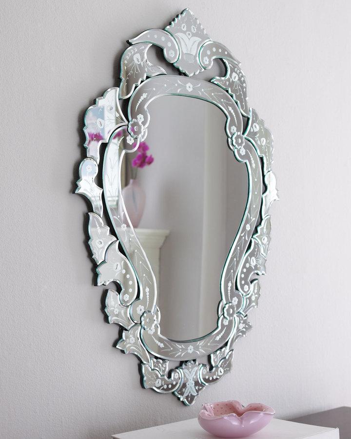 Horchow Petite Venetian-Style Mirror