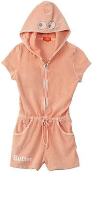 Butter Shoes Girls' Mineral Wash Romper
