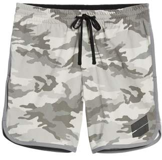 James Perse Camo Heavy Jersey Basketball Shorts
