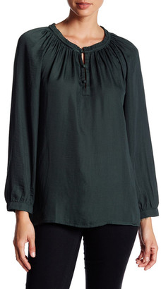 14th & Union Ruffle Peasant Blouse $29.97 thestylecure.com