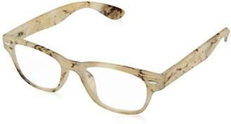 A. J. Morgan A.J. Morgan Unisex-Adult Wanzhou - Power 0 54250 Rectangular Reading Glasses