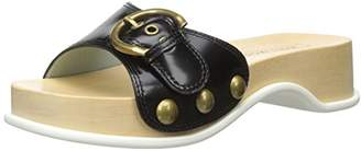 Marc Jacobs Women's Anita Slide Clog Leather Mule