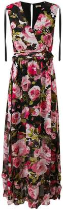 Liu Jo floral print maxi dress