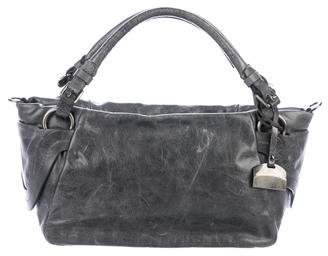 Francesco Biasia Multi-pocket Leather Satchel