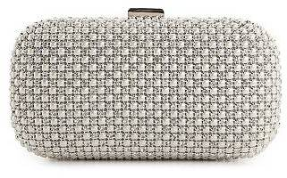Townsend Lulu Pearl Front Minaudiere Clutch